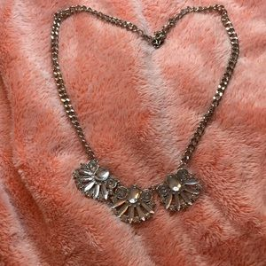 A Beautiful silver necklace